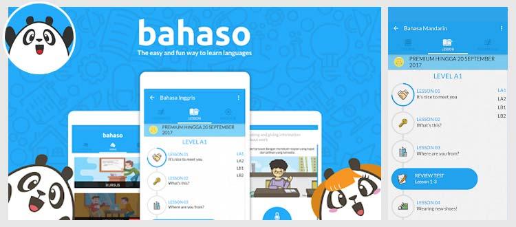 Aplikasi belajar Bahasa Inggris - Bahaso