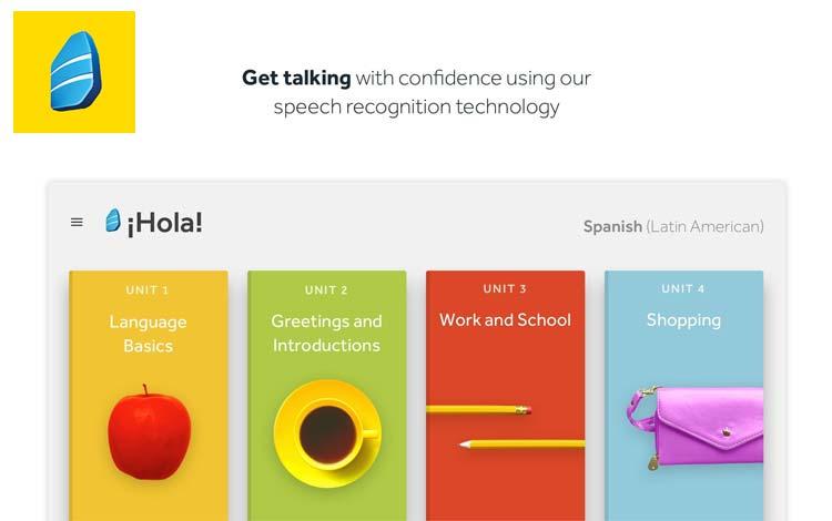 Aplikasi belajar Bahasa Inggris - Rosetta Stone: Learn Languages