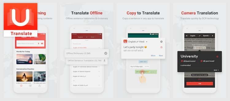 Aplikasi belajar Bahasa Inggris - U-Dictionary
