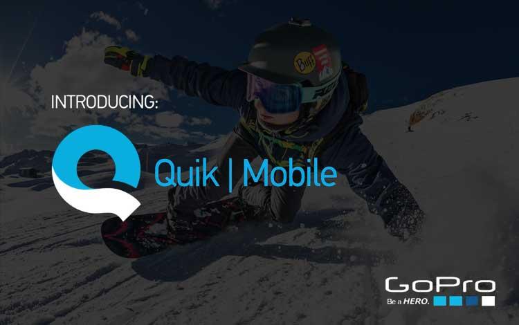 Aplikasi edit video untuk Android - Quick