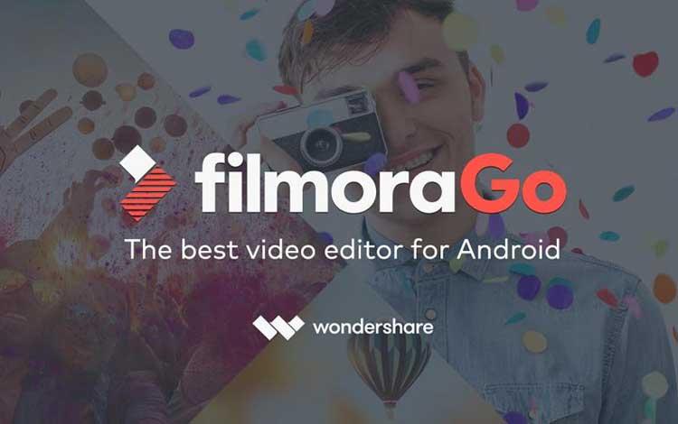 Aplikasi edit video untuk Android - filmoraGo