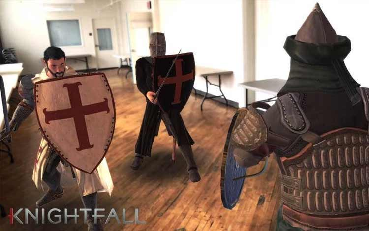 Game AR untuk Android terbaik - Knightfall AR