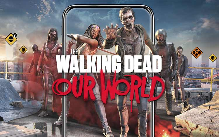 Game AR untuk Android terbaik - The Walking Dead: Our World
