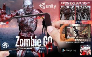Game AR untuk Android terbaik - Zombie Go