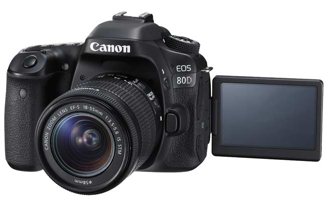 Kamera vlog terbaik - Canon EOS 80D