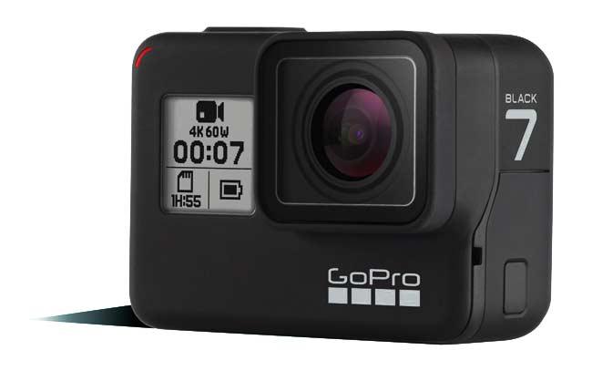 Kamera vlog terbaik - Go Pro Hero 7