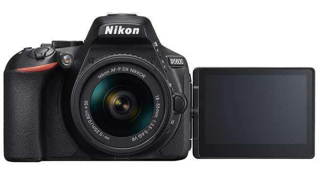 Kamera vlog terbaik - Nikon D5600