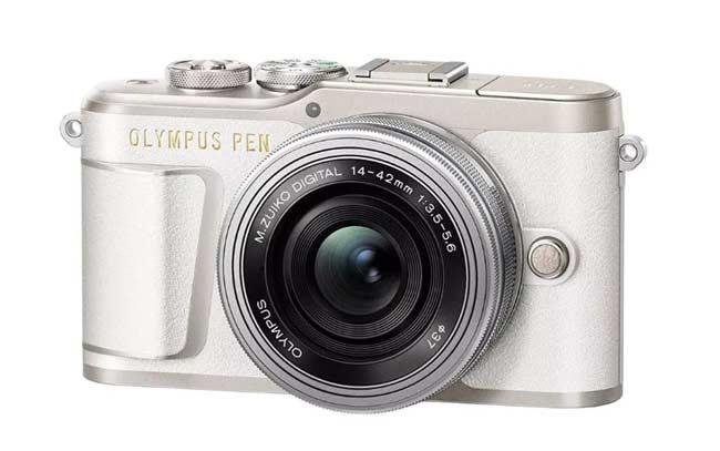Kamera vlog bagus - Olympus PEN E-PL9