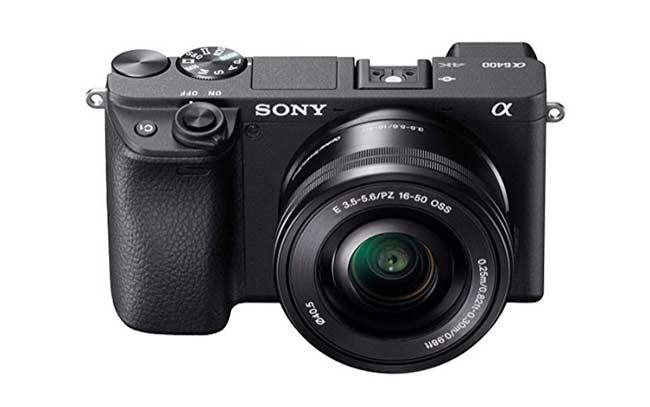 Kamera vlog terbaik - Sony A6400