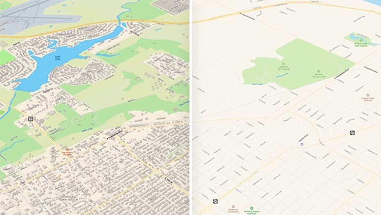 Apple Maps terbaru pada iOS 13