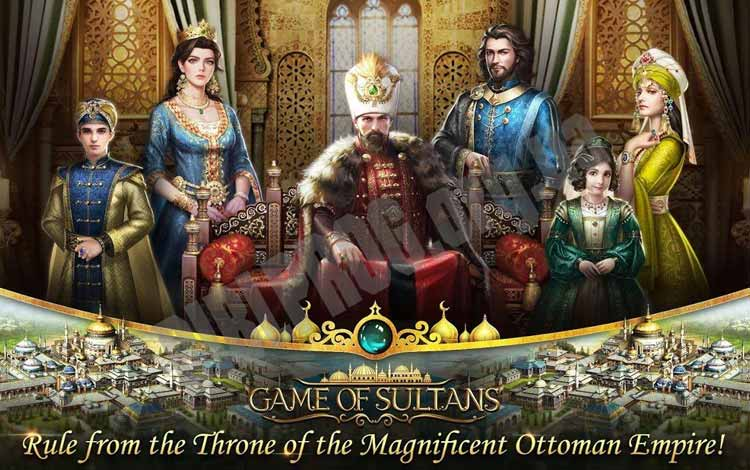 Game android terpopuler - Game of Sultans