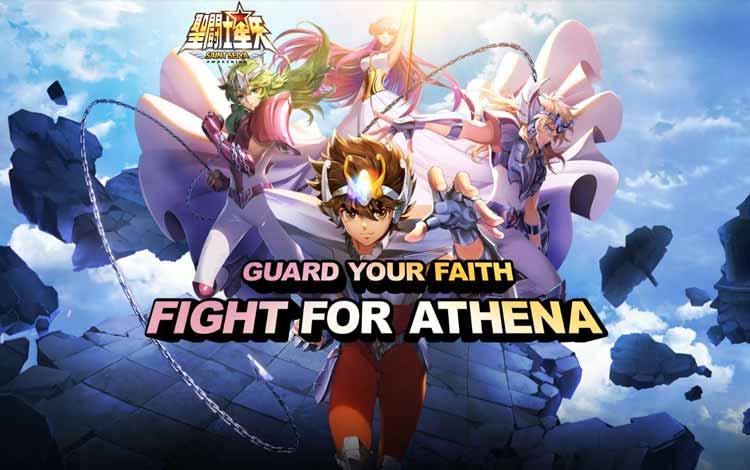 Game android terpopuler - Saint Seiya Awakening