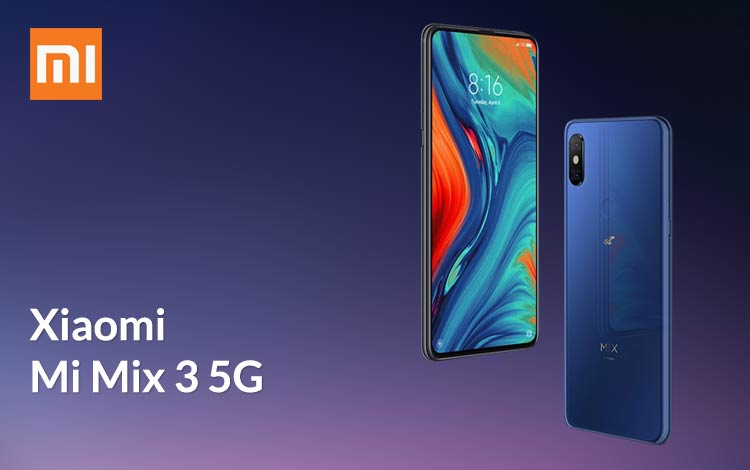 Smartphone xiaomi terbaik 2019 - Xiaomi Mi Mix 3 5G