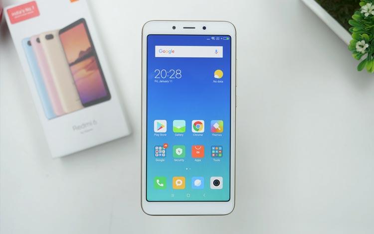Smartphone xiaomi terbaik 2019 - Xiaomi Redmi 6