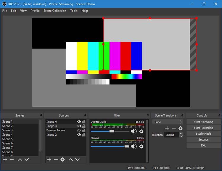 Aplikasi Screen Recorder Terbaik 2019 - Open Broadcaster Software