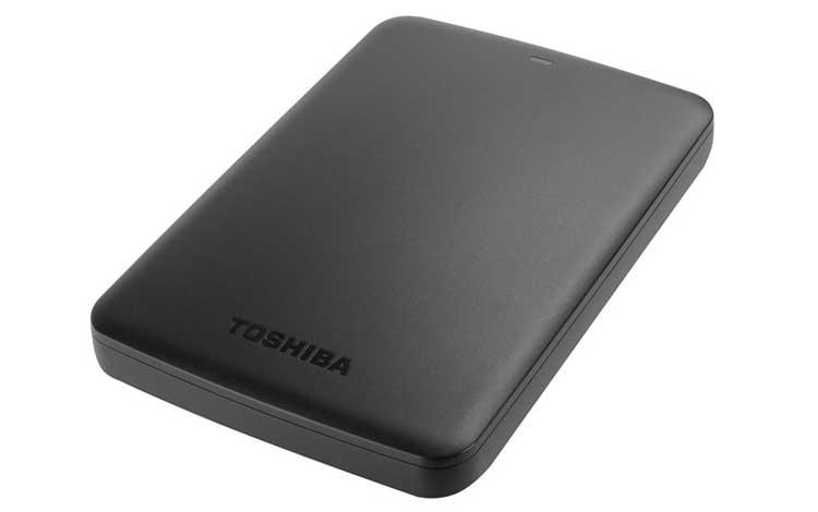 Hardisk eksternal bagus - Toshiba Canvio Basic