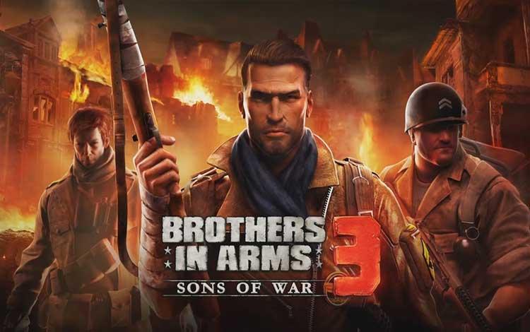 Game perang offline terbaik - Brothers in Arms 3