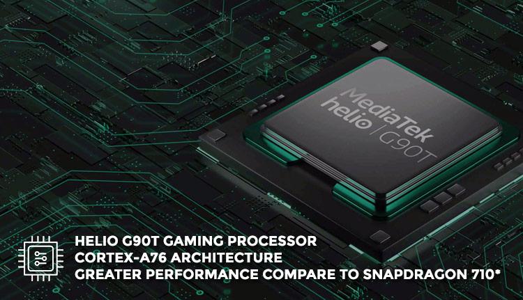 Chipset xiaomi redmi note 8 pro - MediaTek Helio G90T