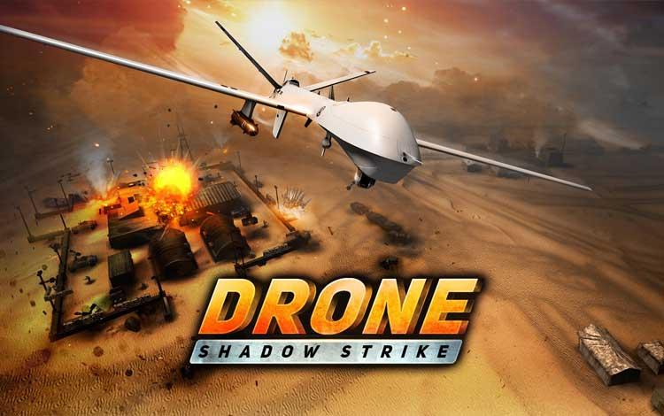Game perang offline terbaik - Drone Shadow Strike