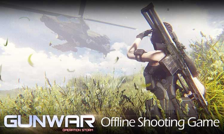 Game perang offline terbaik - Gun War: Shooting Games