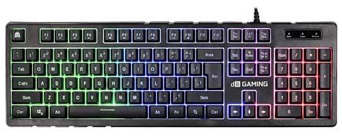 Keyboard gaming bagus - Digital Alliance Black Ruby Rainbow
