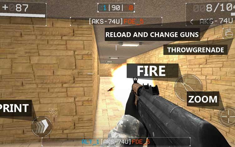 Game perang offline terbaik - Squad Strike 3