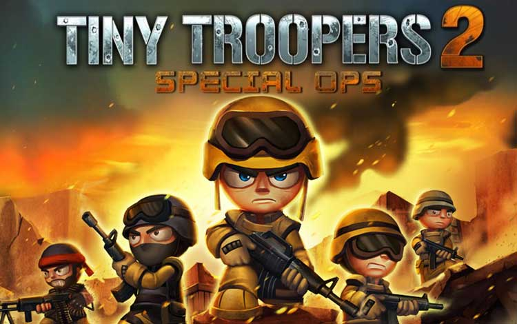 Game perang offline terbaik - Tiny Troopers 2: Special Ops