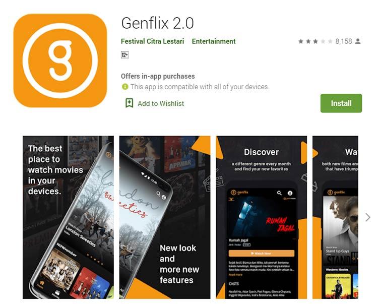 Aplikasi Download Film - Genflix