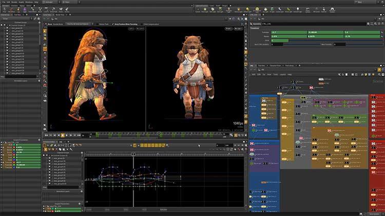 Houdini - Software Animasi 3D Terbaik