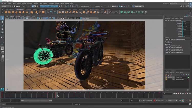 Maya - Software Animasi 3D Terbaik