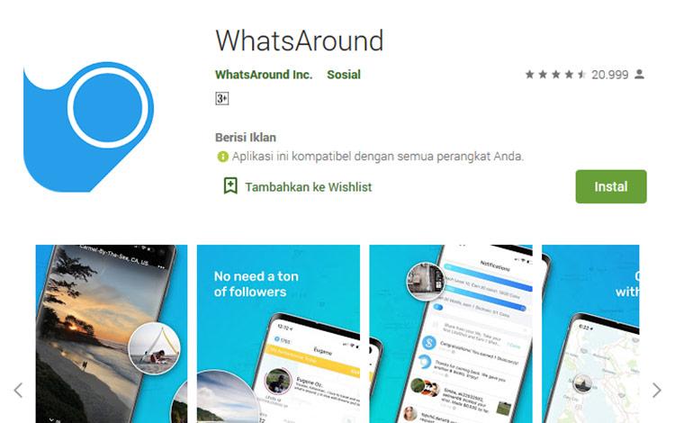 Aplikasi penghasil uang - Whatsaround