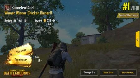 Cara mudah menang PUBG chicken Dinner