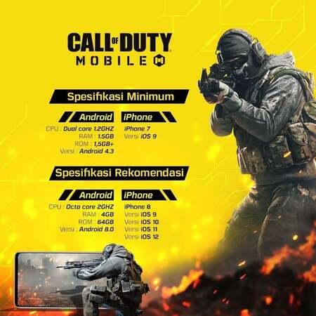 tips dan trik main call of duty mobile
