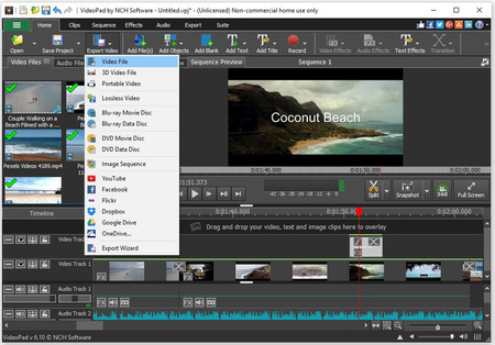 aplikasi edit video Gratis PC