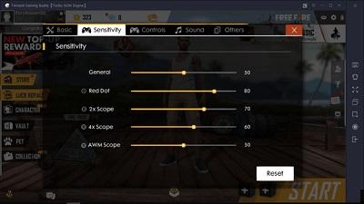 Cara Main Free Fire PC via Emulator Tencent Gaming Buddy