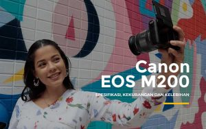 Kamera mirrorless Canon EOS M200