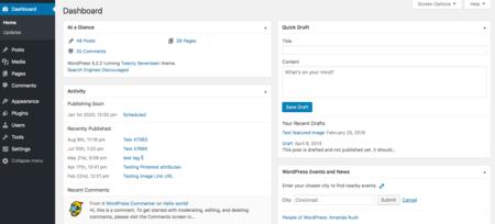 Cara Membuat Blog Admin Dashboard