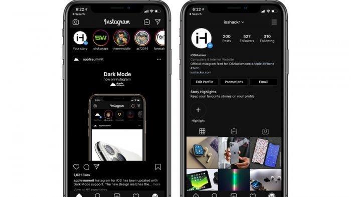 Cara Mengaktifkan Instagram Dark Mode