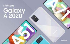 Samsung A series 2020
