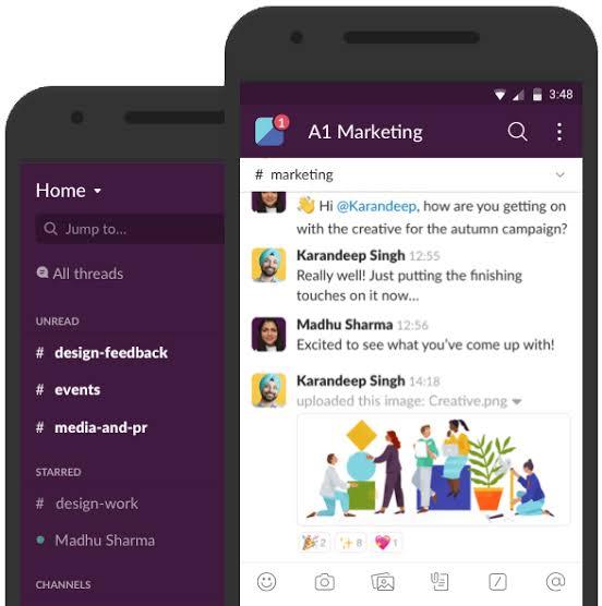 Aplikasi Komunikasi Team Management