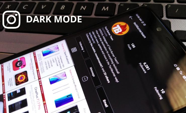 Cara Mengaktifkan Instagram Dark Mode Terbaru!