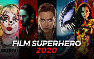 Film superhero 2020