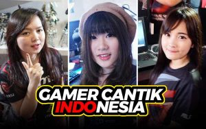 Gamer cantik Indonesia