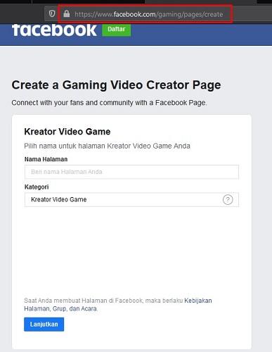 Cara Daftar Menjadi Facebook Gaming Creator