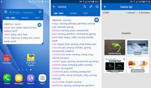 Aplikasi Kamus Bahasa Inggris Terbaik - English Indonesian Translator