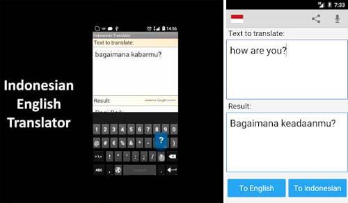 Aplikasi Kamus Bahasa Inggris Terbaik - Indonesian English Translator