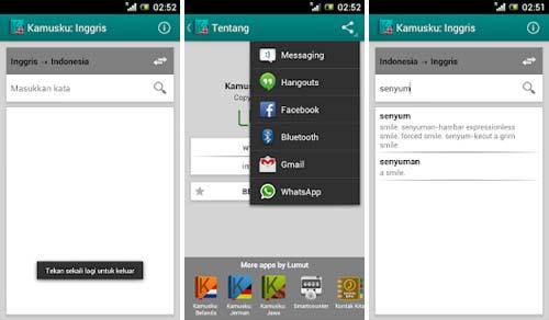 Aplikasi Kamus Bahasa Inggris Terbaik - Kamusku: Inggris (Indonesia)