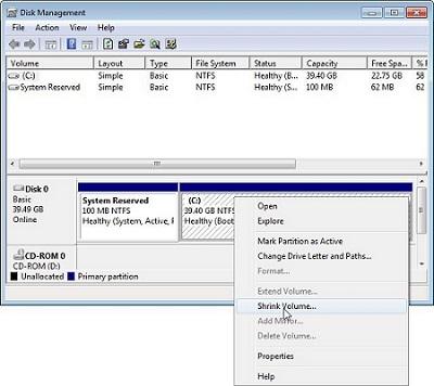 Cara Partisi Hard Disk Windows 10 Disk Management