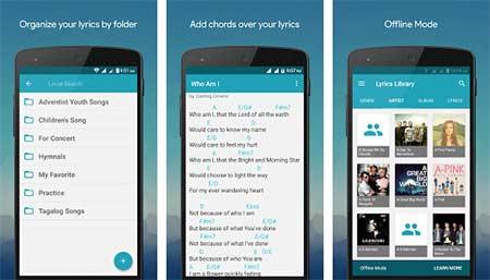 Aplikasi Lirik Lagu Android dan iOS terbaik