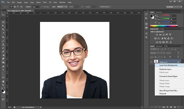 Cara Mudah Mengganti Background Foto di Photoshop